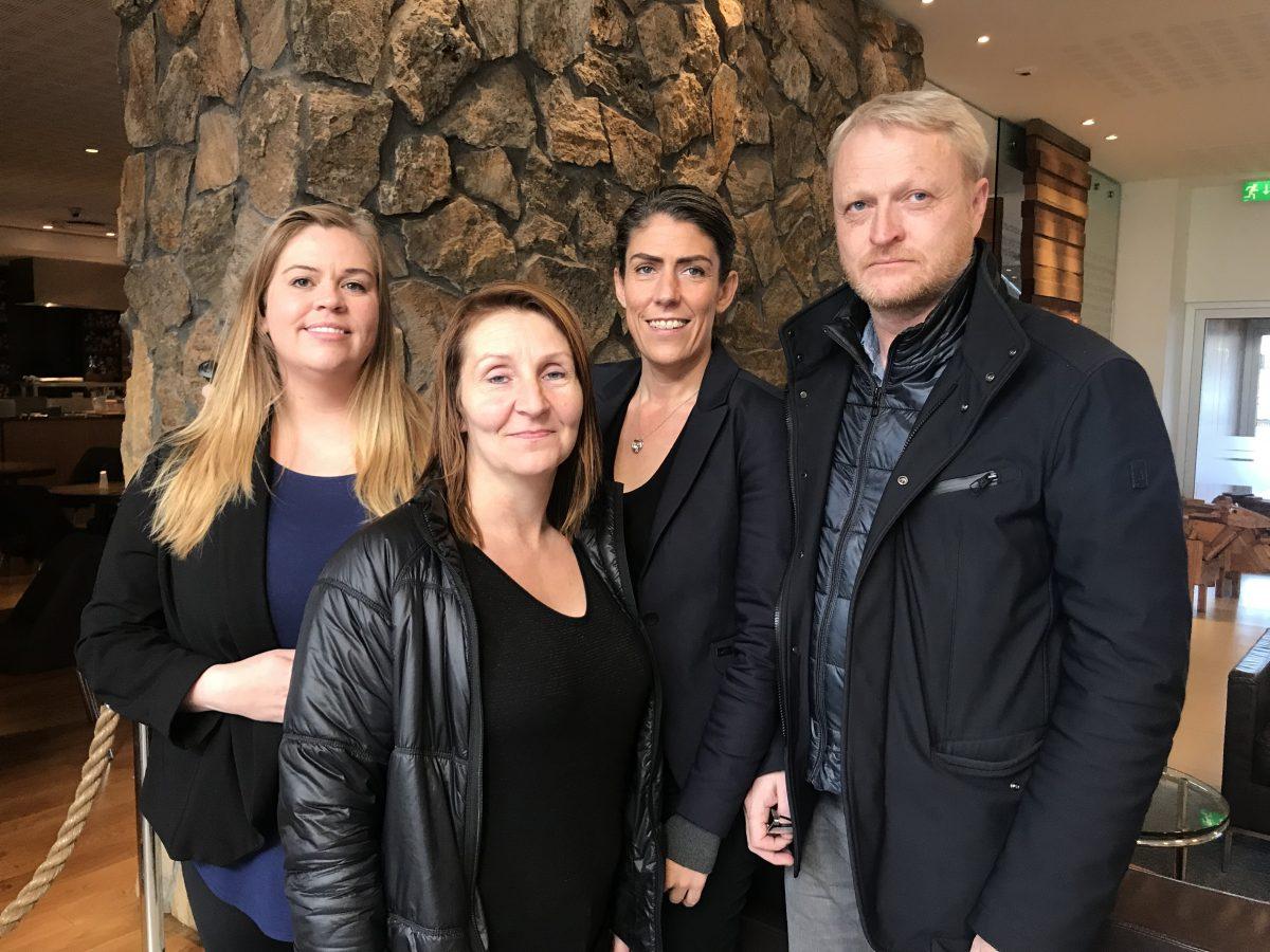 Rebekka Hilmarsdóttir, Bjarnveig Guðbrandsdóttir, Iða Marsibil Jónsdóttir og Jón Árnason.